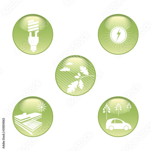 Eco Stickers Set