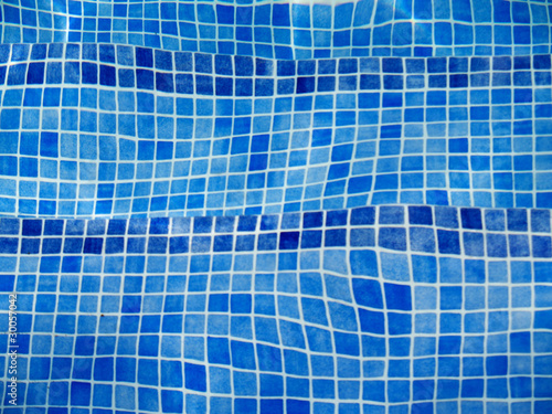 distorted by water  pool tiles  background