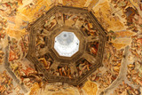Interior of Florence cathedral,Tuscany, Italy