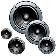 Enceintes audio