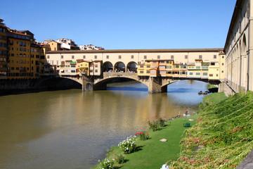 Florence, Ponte Vecchio bridge, Italy