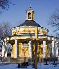 St. Nicholas church on Askold tomb in Kiev