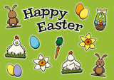Easter Sticker Set