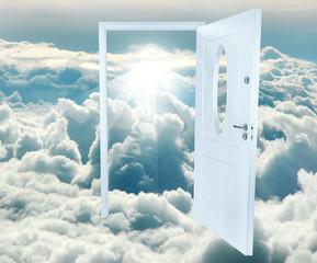 porta nelle nuvole