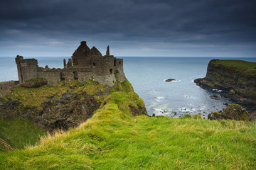 Dunluce Castle - Ireland landscapes