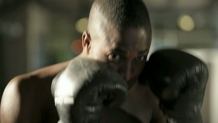 Boxer Throwing Punch; HD 720, H 264