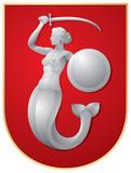 Warsaw Mermaid, Poland - 30071271