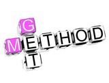 Get Method Crossword poster