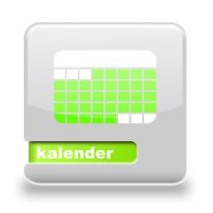 Button Spare Kalender grau grün