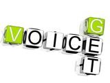 Get Voice Crossword poster