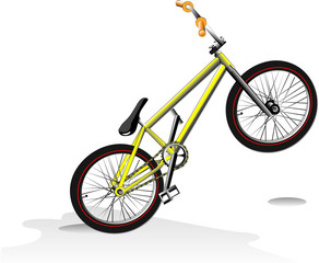 Stunt bike.