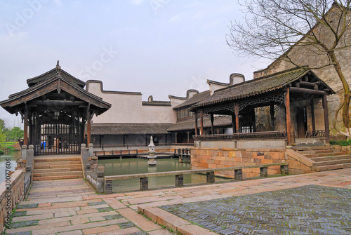 China, Jangsu, the Xizha ancient village houses
