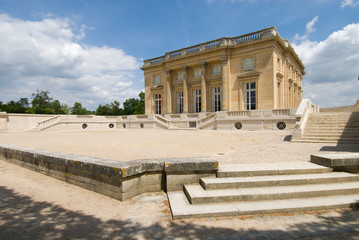 Petit Trianon of Versailles Palace Park