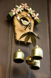 bell wind chimes on the wall poster
