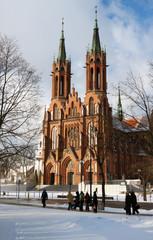 Basilica in Bialystok.
