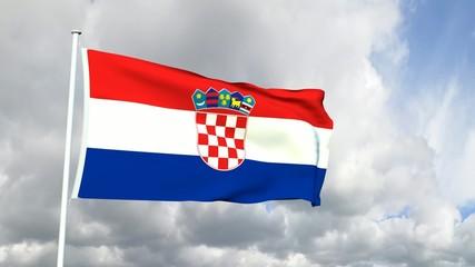 097 - Kroatische Flagge