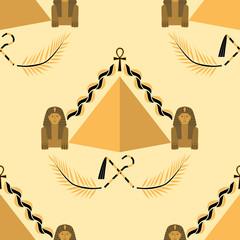 Seamless egyptian background
