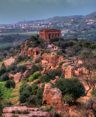 HDR image of the valley of the temples 09