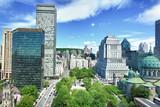 Stadtzentrum Montreal, Quebec/ Kanada