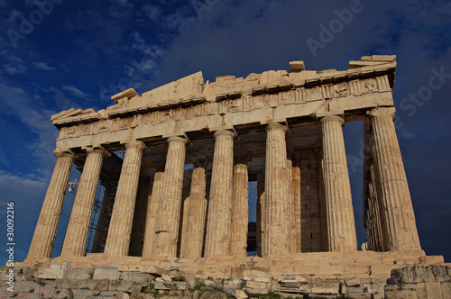 Acropolis of Greek Parhenon