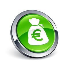 icône bouton internet bourse