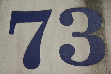 Number 73