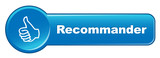 "Bouton Web ""RECOMMANDER "" (partager voter avis satisfaction ok) poster"