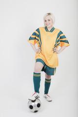 fußballspielerin
