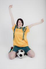 Sieger beim Fußball
