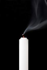 火の消えたロウソク