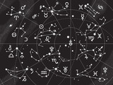 XII Constellations of Zodiac and Its Planets the Sovereigns
