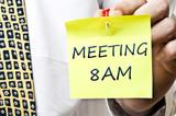 Meeting at 8 AM