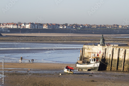 seaside view of Margate  in  England - 30110852