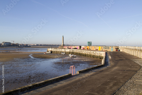 seaside view of Margate  in  England