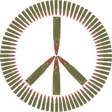 peace symbol - stop the war