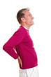 Senior mit Rückenschmerzen