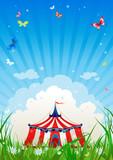 Fototapety Travelling circus
