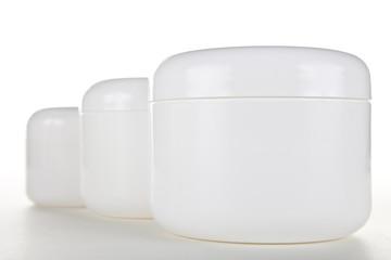 Multiple Cream Jars