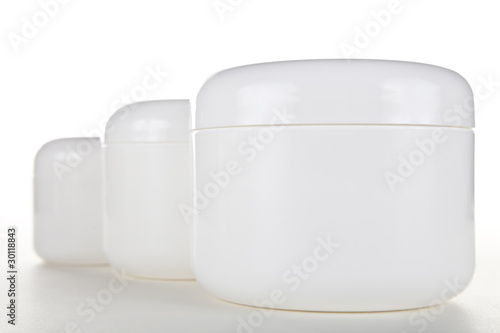 Multiple Cream Jars