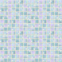 Pearly Blue Opal Mosaic seamless