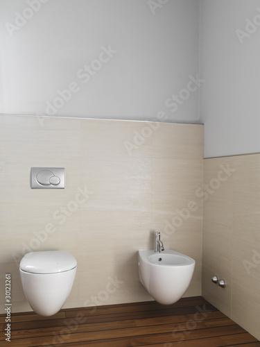 Bagno moderno con sanitari sospesi di adpephoto foto stock royalty free 30123261 su - Stock sanitari bagno ...