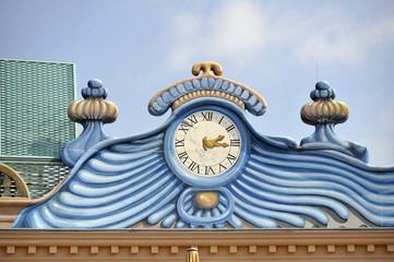 Wien, Prater, Uhr