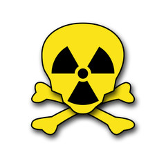 totenschädel radioaktiv