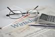 Wirtschaftsnachrichten und Börsenachrichten in der Zeitung