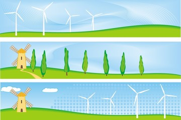 renewable energy banner
