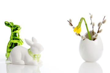 Ostern im Frühling