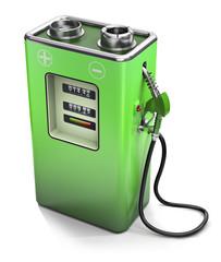 Eco fuel - Electric energy concept