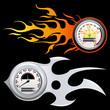 Fiery Speedometer