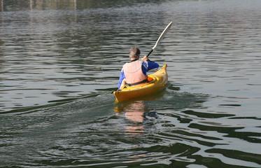 Allenamento in Kayak