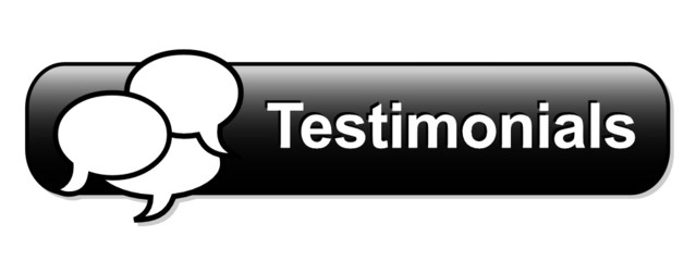 TESTIMONIALS Web Button (satisfaction users customer experience)